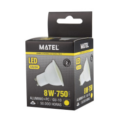 BOMB.LED DICRO. 6w. CALIDA...